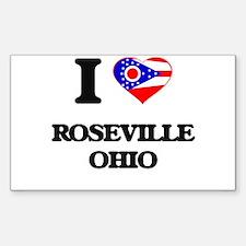 I love Roseville Ohio Decal