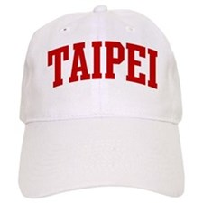 TAIPEI (red) Baseball Cap