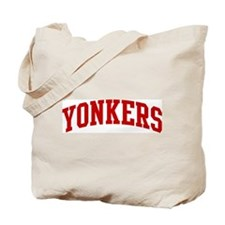 YONKERS (red) Tote Bag