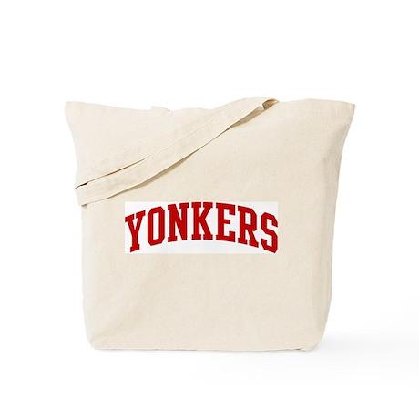 YONKERS (red) Tote Bag