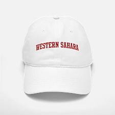 WESTERN SAHARA (red) Baseball Baseball Cap