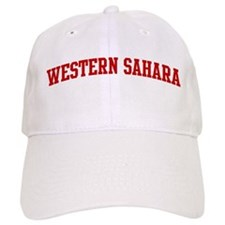 WESTERN SAHARA (red) Cap