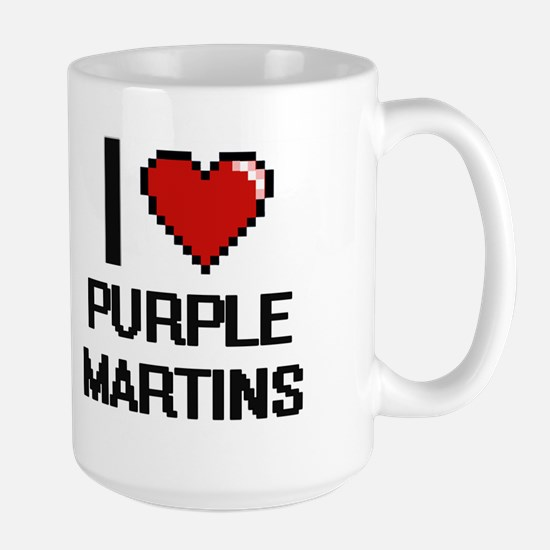 I love Purple Martins Digital Design Mugs