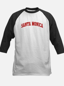 SANTA MONICA (red) Kids Baseball Jersey
