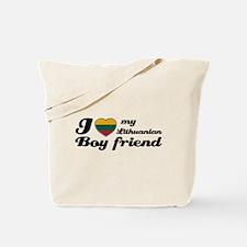 I love my Lithuanian Boy friend Tote Bag