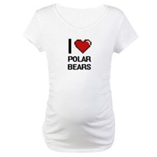 I love Polar Bears Digital Desig Shirt