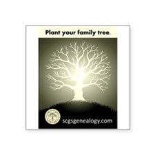 Plant Your Family Tree Sticker