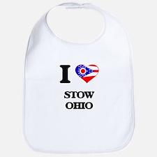 I love Stow Ohio Bib
