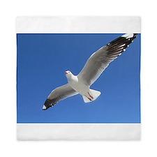 Seagull Flies Queen Duvet