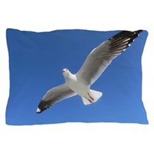 Seagull Flies Pillow Case