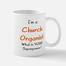church organist Mug