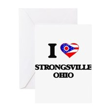 I love Strongsville Ohio Greeting Cards