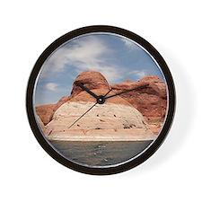 Lake Powell, Glen Canyon, Arizona, USA Wall Clock