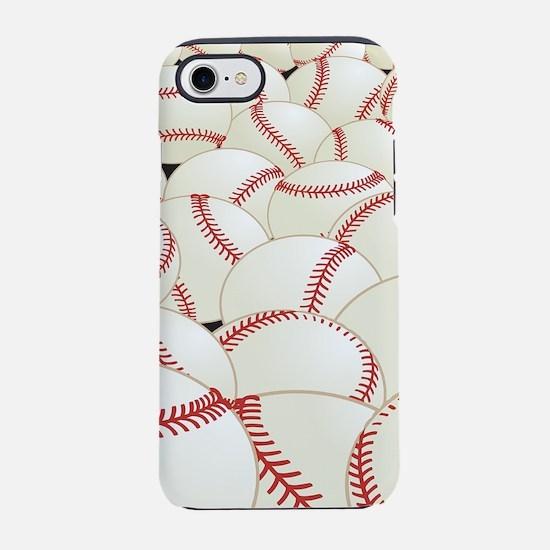 Baseball Balls iPhone 7 Tough Case
