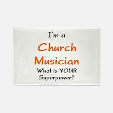 church musician Rectangle Magnet