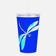 Essence Of A Dragonfly Acrylic Double-wall Tumbler