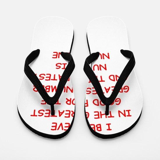greater good Flip Flops