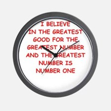greater good Wall Clock