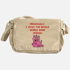 pig logic Messenger Bag