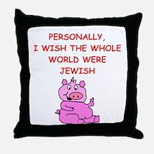 pig logic Throw Pillow