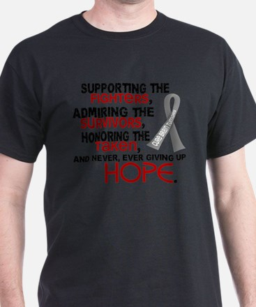 © Supporting Admiring 3.2 Brain Cancer Shirts T-Sh
