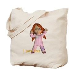 I Love You - Kit Tote Bag