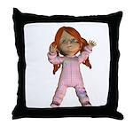 Throw Pillow - Kit I love you
