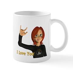 I love you - Jan Mug