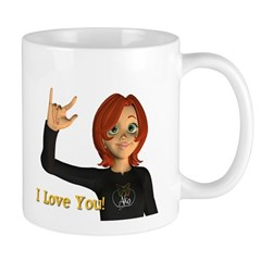 I love you - Jan Mug