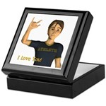Keepsake Box - Jimmy - I Love You