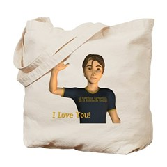 I Love You - Jimmy Tote Bag