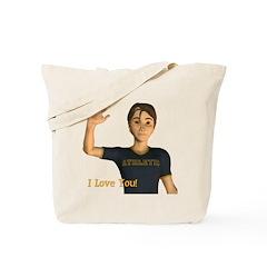 I Love You - Jimmy Tote Bag