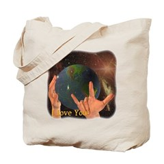 I Love You - God Tote Bag