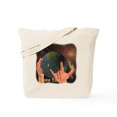 I Love You - God Tote Bag