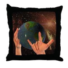 Throw Pillow - God