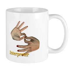 Female Interpreter Mug