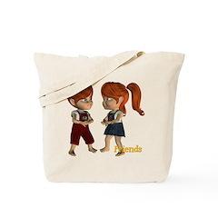 Friends - Kit & Kevin Tote Bag