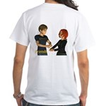 Friends - Jimmy & Jan White T-Shirt