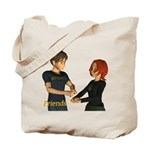 Friends - Jimmy & Jan Tote Bag