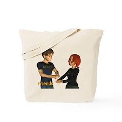 Friends - Jimmy & Jan Tote Bag