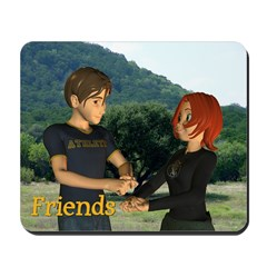 Mousepad - Jimmy and Jan - Friends