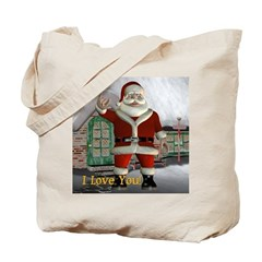 Tote Bag - Santa I Love You