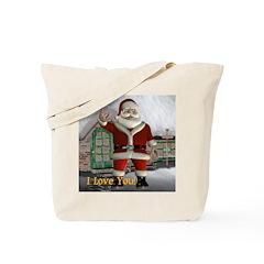 Tote Bag - Santa I Love You