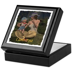 Mom & Baby 02 - Keepsake Box