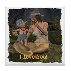 Mom & Baby 02 - Tile Coaster