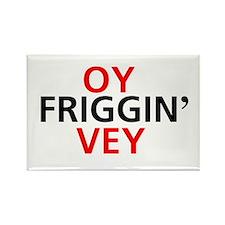Oy Friggin' Vey Rectangle Magnet (10 pack)
