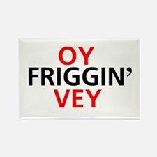 Oy Friggin' Vey Rectangle Magnet (10 pack)