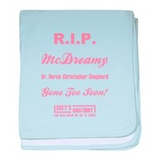 R.I.P. McDREAMY baby blanket