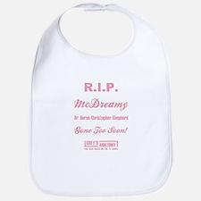 R.I.P. McDREAMY Bib