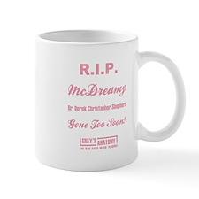 R.I.P. McDREAMY Small Mug